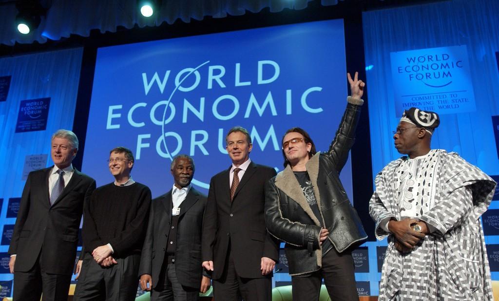 World Economic Forum Annual Meeting Davos 2005