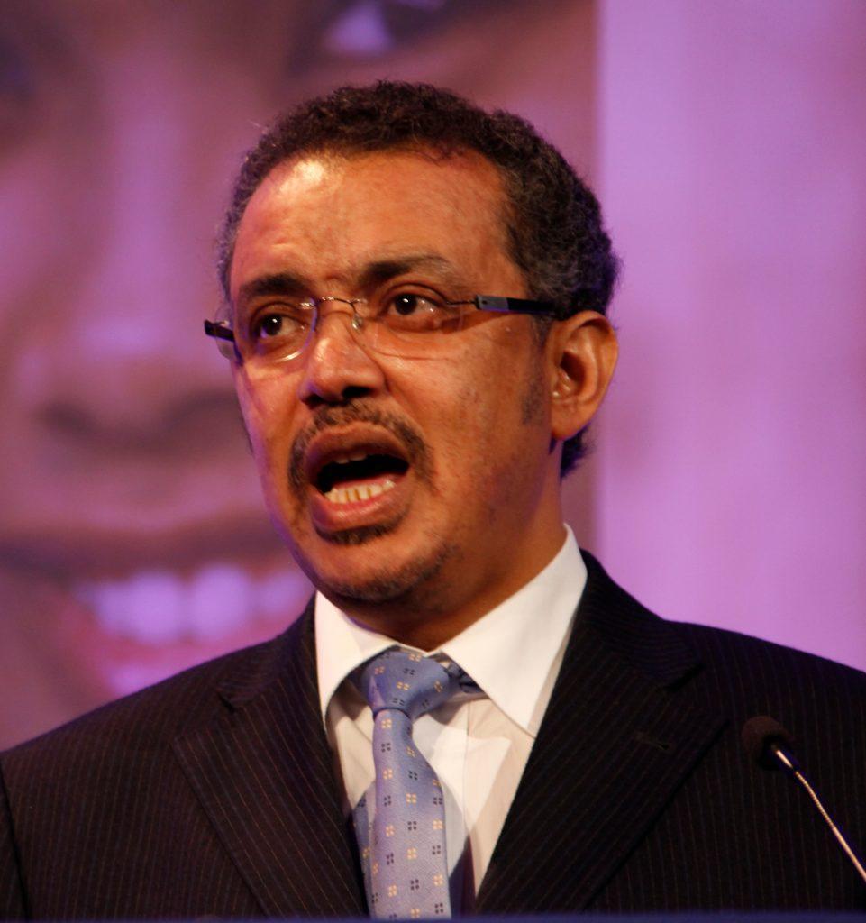Dr Tedros Adhanom Ghebreyesus, Director General WHO