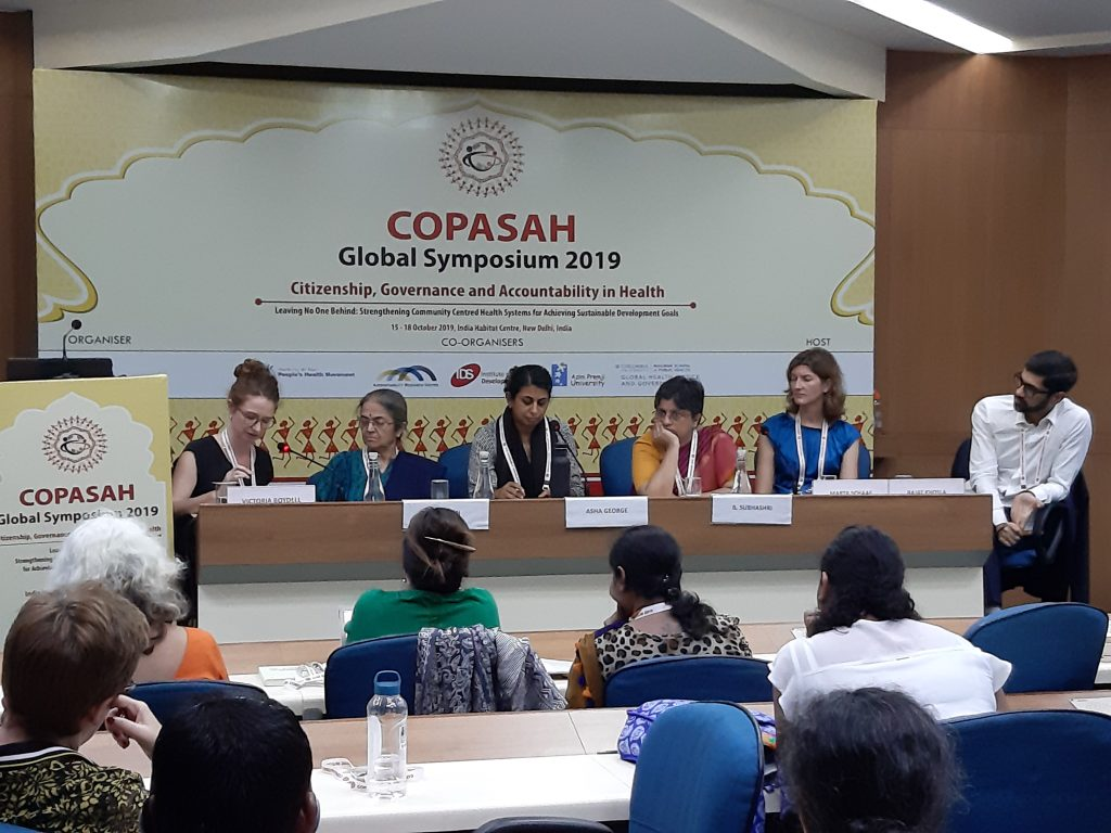 Accelerating Social Accountability for Health: short takes from the COPASAH Global Symposium in New Delhi, 15-18 October 2019