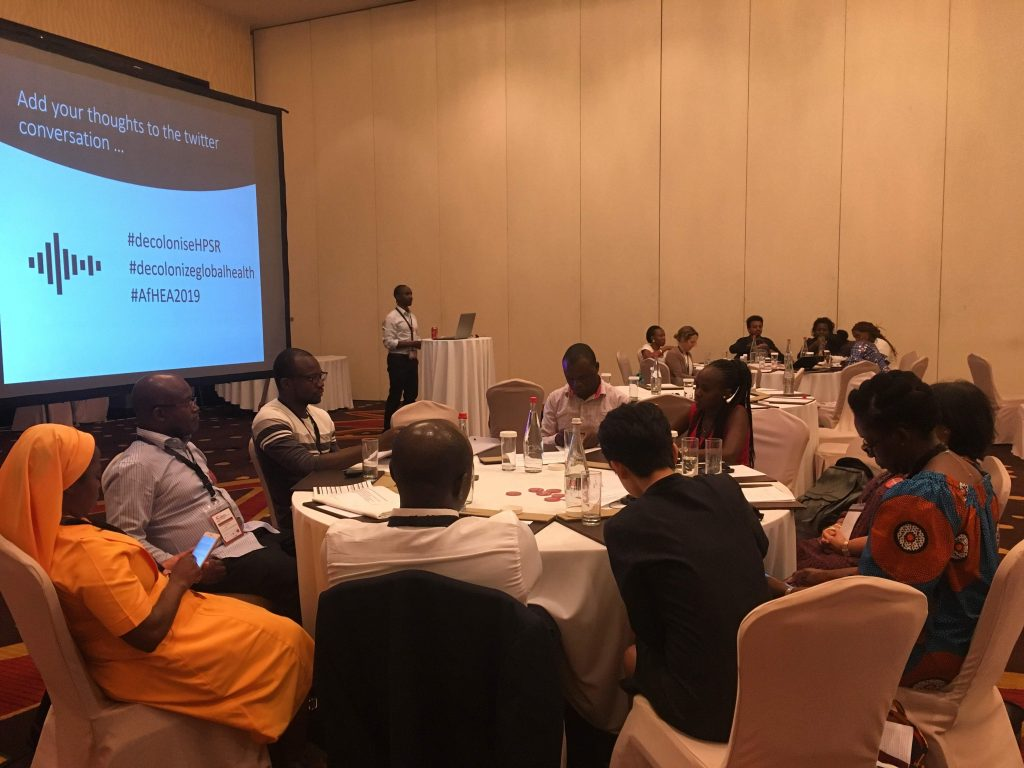 Developing an Activist Agenda for Health Policy and Systems Research in Africa