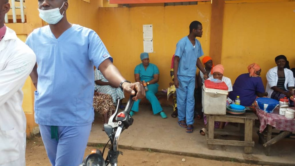 Caesarean sections: an unwanted service in rural Guinea?